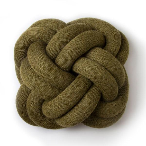 knot cushion,ノットクッション,グリーン