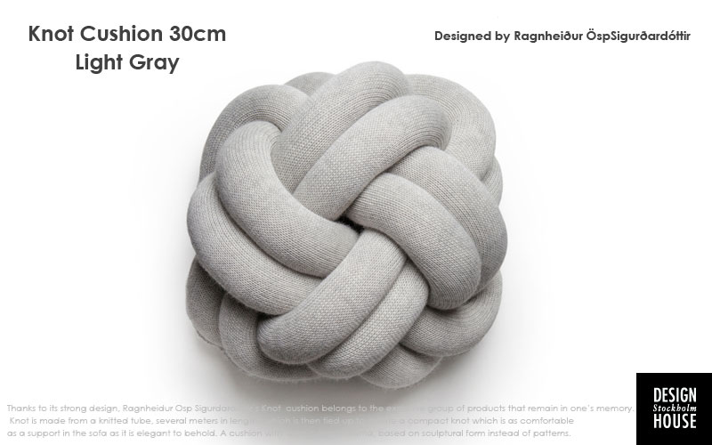 DESIGN HOUSE stockholmデザインハウス・ストックホルム,knot cushion,ノットクッション,北欧,スウェーデン,北欧雑貨,北欧インテリア,北欧ギフト