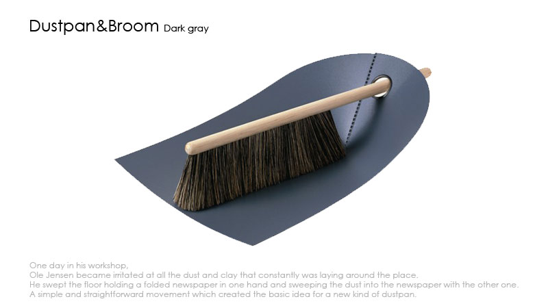 Dustpan&Broom(normannCOPENHAGENノーマンコペンハーゲン)・塵取&ホウキセット,北欧,デンマーク,北欧雑貨,北欧インテリア,北欧ギフト