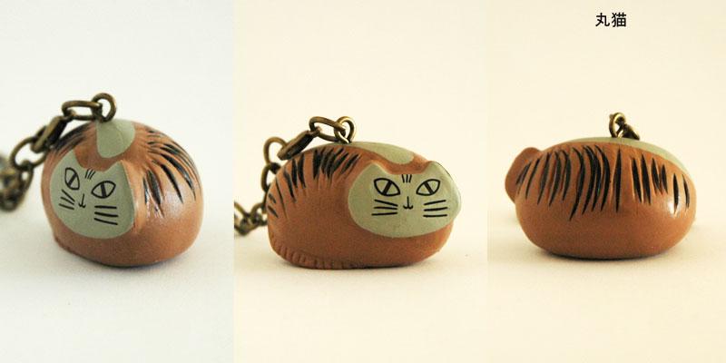 Lisa Larson,リサ・ラーソン,キーホルダー,Lilla Zoo(リラズー)丸猫