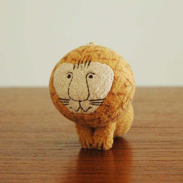 リサラーソン,ライオン,マスコット,ぬいぐるみミニサイズ
