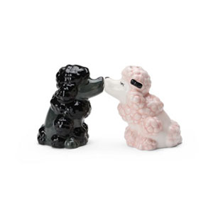 DogS&PShakers,poodles(ドッグ・ソルト&ペッパー・プードル),ドッグ・ソルト&ペッパー,塩コショウ入れ,Westlandgiftware,ギフト,贈り物