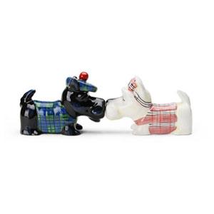 Dog S&P ShakersScottish terriers(ドッグ・ソルト&ペッパー・スコティッシュテリア),ドッグ・ソルト&ペッパー,塩コショウ入れ,Westlandgiftware,ギフト,贈り物
