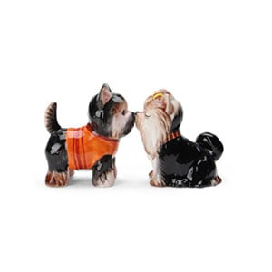 DogS&PShakers,Yorkshire terriers(ドッグ・ソルト&ペッパー・ヨークシャテリア),ドッグ・ソルト&ペッパー,塩コショウ入れ,Westlandgiftware,ギフト,贈り物
