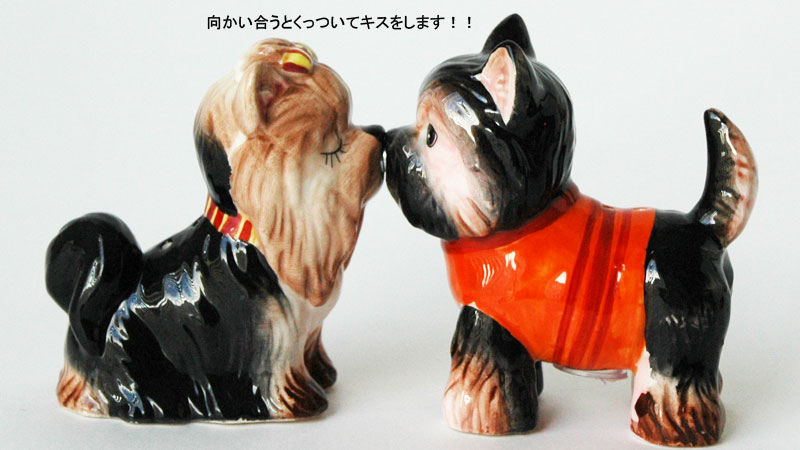 DogS&PShakers,Yorkshire terriers,ドッグ・ソルト&ペッパー,塩コショウ入れ,Westland