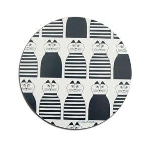 Minmi,ミンミ,lisa larson,リサラーソン,木製ポットマット,optodesign,北欧雑貨,北欧インテリア,北欧キッチン雑貨