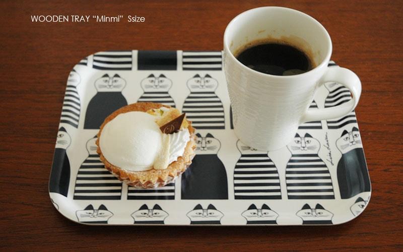 Minmi,ミンミ,Wooden tray,lisa larson,リサラーソン,木製トレイ,Sサイズ,optodesign,北欧雑貨,北欧インテリア,北欧キッチン雑貨