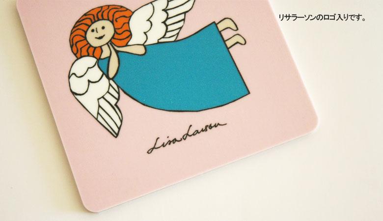 Wooden Coaster,lisa larson,リサラーソン,木製コースター,optodesign,北欧雑貨,北欧インテリア,北欧キッチン雑貨