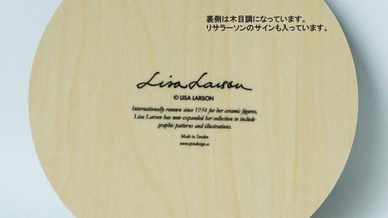 ポットマット,レトロバード,裏側は木目です。,lisa larson,リサラーソン,optodesign,北欧雑貨,北欧インテリア,北欧ギフト