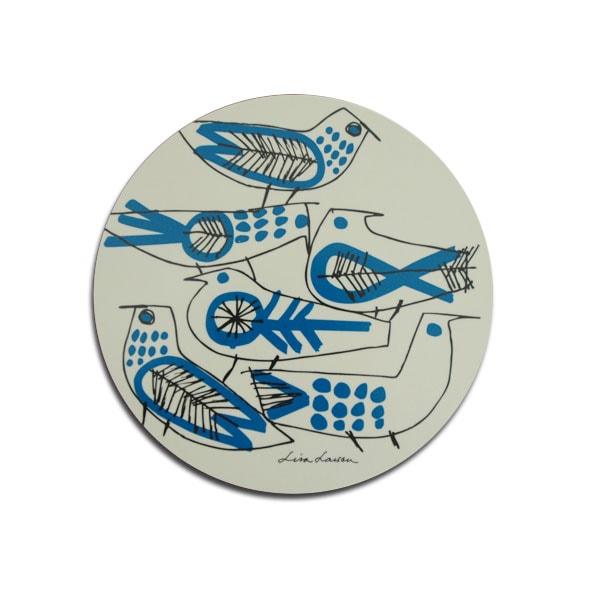 ポットマット,retrobird,lisa larson,リサラーソン,木製トレイ,optodesign,北欧雑貨,北欧インテリア,北欧キッチン雑貨