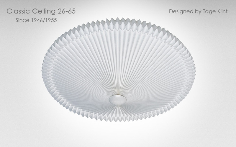 le klint,レ・クリント,classic ceiling,26,クラシックシーリング,天井照明,スモールサイズ,65cm,北欧シーリングライト,北欧デザイナーズ照明