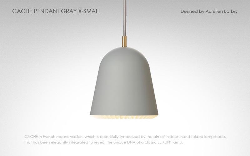 LE KLINT(レ クリント),CACHE(キャシェ)Xスモールサイズ,北欧ペンダントライト,デザイナーズ照明,北欧インテリア,デンマーク