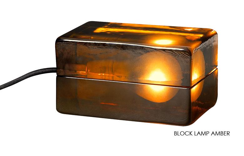 BLOCK LAMP amber,ブロックランプ・アンバー,DESIGN HOUSE stockholm,デザインハウスストックホルム,北欧,スウェーデン,北欧雑貨,北欧インテリア,北欧ギフト