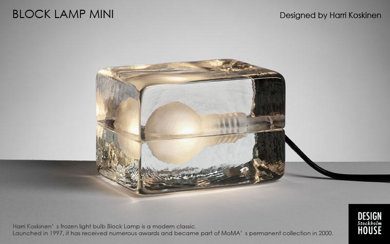 block lamp mini,ブロックランプミニ,MINI BLOCK LAMP(ミニブロックランプ)DESIGN HOUSE stockholm(デザインハウス・ストックホルム)harri koskinen,ハッリコスキネン,moma,モマ,デザイナーズ照明,北欧スウェーデン,北欧雑貨,北欧インテリア,北欧ギフト