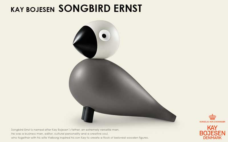 song bird,ソングバード,アーンスト, Kay Bojesen,カイ・ボイスン,木製オブジェ ,デンマーク,北欧,北欧雑貨,北欧インテリア,北欧ギフト