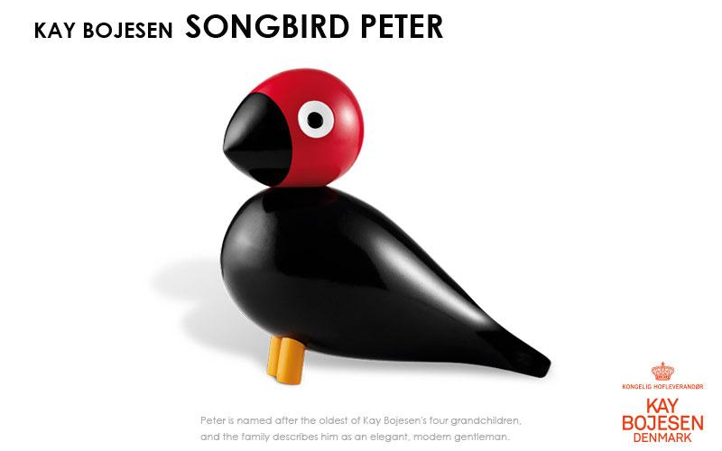 song bird,ソングバード,ピーター, Kay Bojesen,カイ・ボイスン,木製オブジェ ,デンマーク,北欧,北欧雑貨,北欧インテリア,北欧ギフト