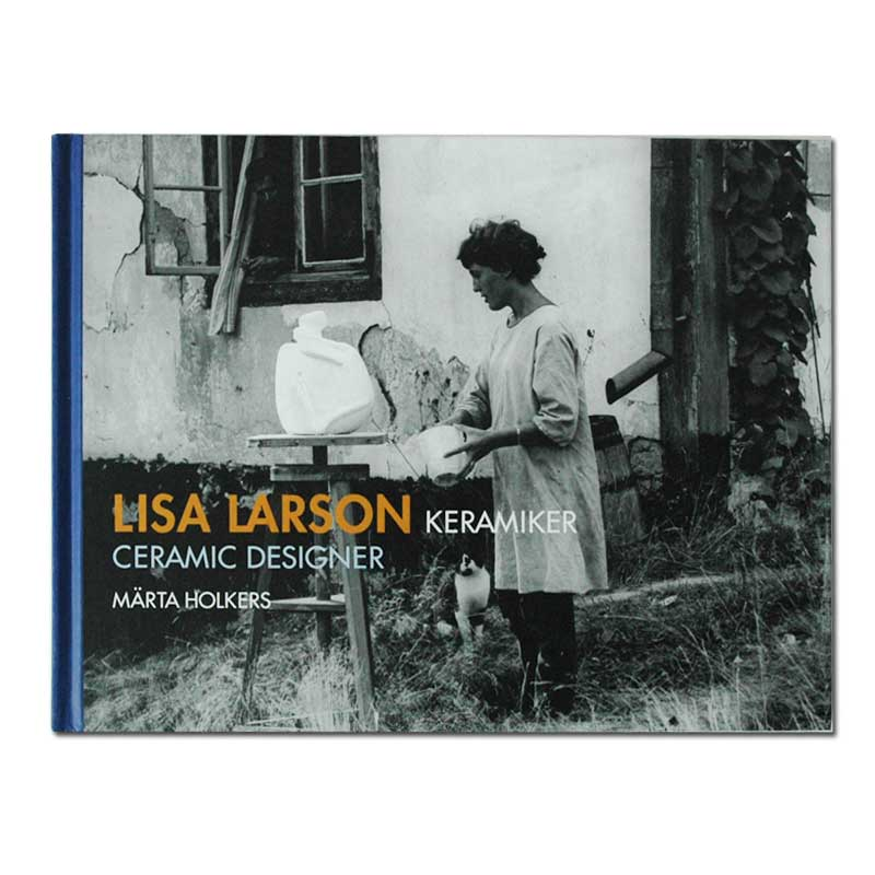 LISA LARSON KERAMIKER,ceramic designer,図録,作品集,リサラーソン,北欧,オブジェ,置物,北欧雑貨,北欧インテリア