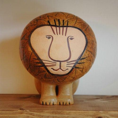 lisa larson,リサラーソン,lion,ライオン,midium,ミディアムサイズ