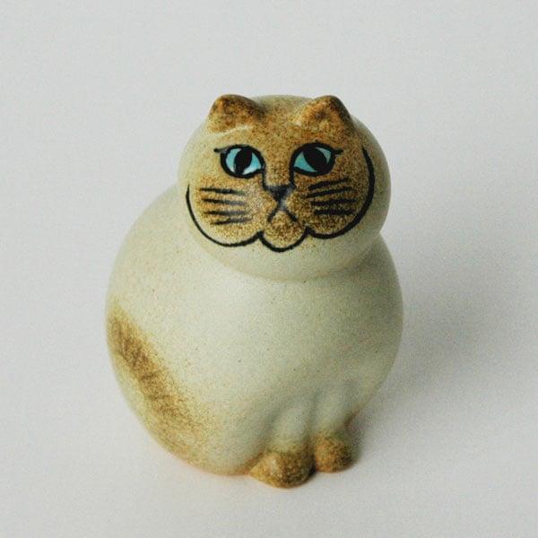 MIA CAT(ミア・キャット)ホワイト,Lisa Larson,リサラーソン,リサラーション,北欧,スウェーデン,オブジェ,置物,北欧雑貨,北欧インテリア