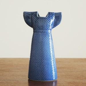 Wardobe Vases Dress,ワードローブ,ドレス,ブルー,フラワーベース,Lisa Larson,リサラーソン