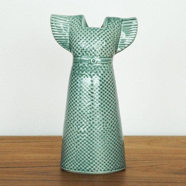 Wardobe Vases Dress,ワードローブ,ドレス,ミントグリーン,フラワーベース,Lisa Larson,リサラーソン