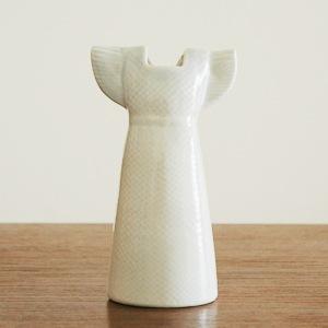 Wardobe Vases Dress,ワードローブ,ドレス,ホワイト,フラワーベース,Lisa Larson,リサラーソン