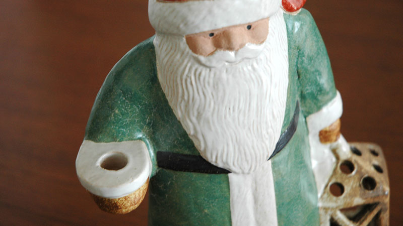 Santa Tomte(サンタ・トムテ)サンタクロース,Lisa Larson,リサ ラーソン,オブジェ,置物,北欧スウェーデン,北欧雑貨,北欧インテリア,北欧ギフト