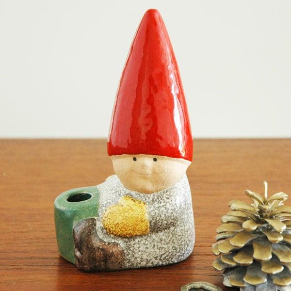 Santa Boy with drum(サンタ・ボーイ)トムテファミリー,Lisa Larson,リサラーソン,北欧,スウェーデン,子ども,北欧雑貨,北欧インテリア