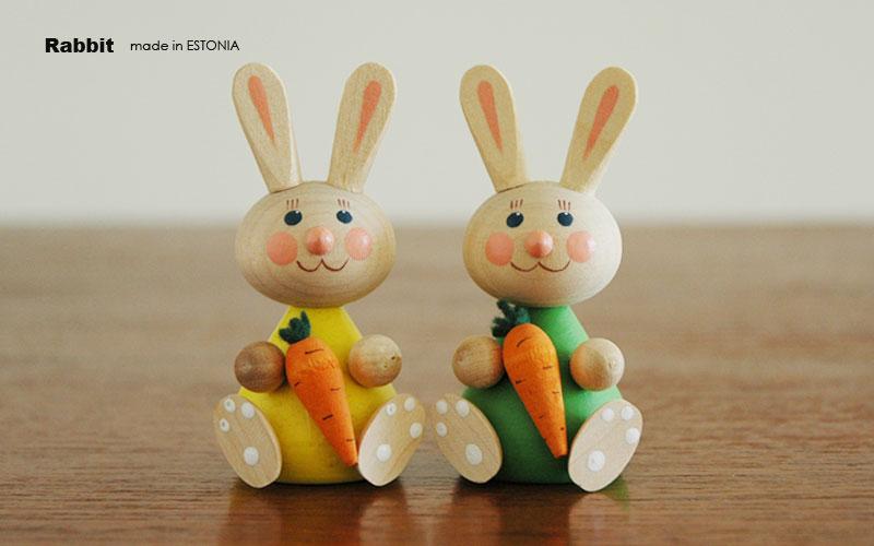 エストニアのハンドクラフト,ウサギのオブジェ,置物,北欧エストニア,北欧雑貨,北欧インテリア,北欧ギフト