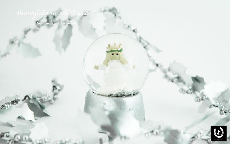 Snowglobe Lucia(スノーグローブ・ルシア)スモールサイズ,スノーボール,NAASGRANSGADEN(ネースグレンズゴーデン),北欧,置物,スウェーデン,北欧雑貨,聖ルシア祭