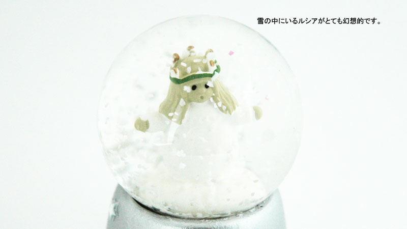 Snowglobe lucia(スノーグローブ・ルシア)スノーボール,NAASGRANSGADEN(ネースグレンズゴーデン),北欧,置物,スウェーデン,北欧雑貨,聖ルシア祭