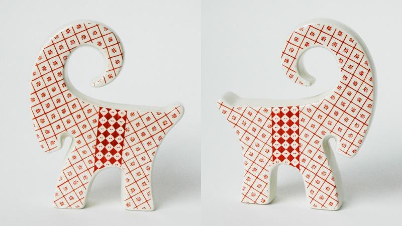 Christmas Goat,クリスマス,ヤギ,Bukkene Bruse,NAASGRANSGADEN(ネースグレンズゴーデン),北欧,置物,スウェーデン,北欧雑貨,クリスマス