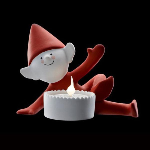 クリスマス・エルフ,jolly elf,ジョリー・エルフ),Sirius(シリウス),デンマーク,クリスマスキャンドルライト,led,green energy