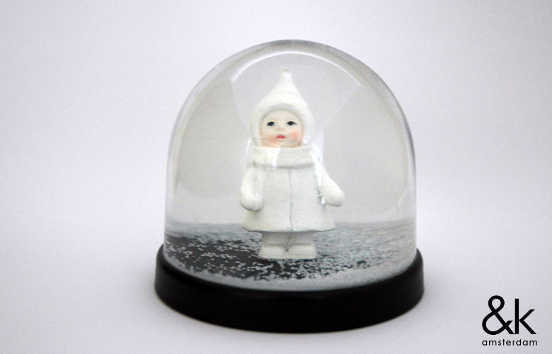 Klevering,Wonder Ball,Snow Doll(スノードール),スノードーム,スノーグローブ,オブジェ,置物