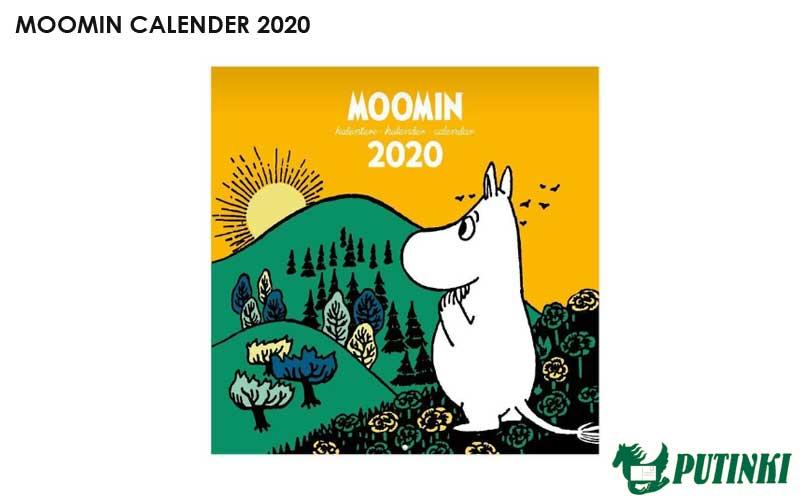 ムーミン,原画壁掛けカレンダー2020年版,フィンランド,北欧,北欧雑貨,北欧インテリア,北欧ギフト