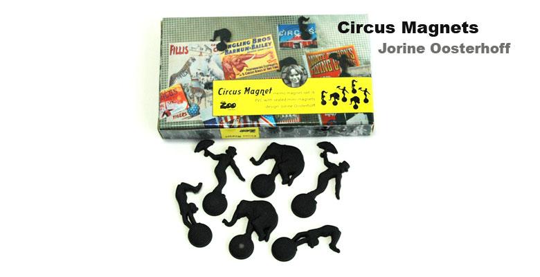 Circus Magnets(サーカス・クリッマグネット),puhlmann(ブルマン),Jorine Oosterhoff(ヨリネ・オーステルホフ)