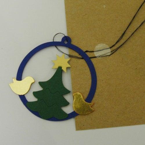 クリスマスカード,tree ringのモビール,KAREN VIUM(カレン・ビウム・デザイン),北欧デンマーク