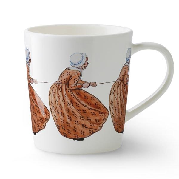 ant brown,ちゃいろおばさん,Elsa Baskow(エルサ・べスコフ)マグカップ