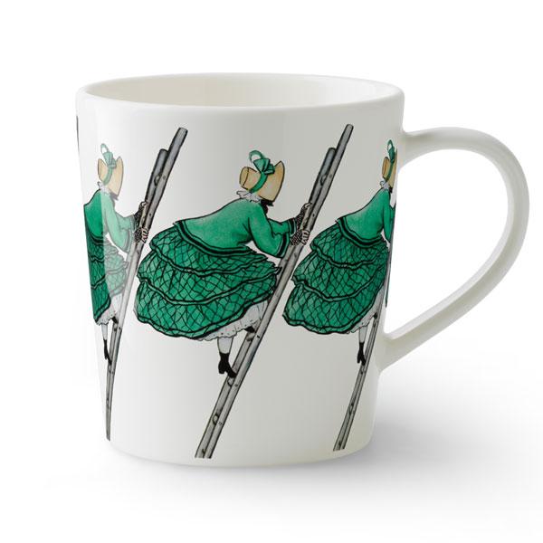 ant green,みどりおばさん,Elsa Baskow(エルサ・べスコフ)マグカップ