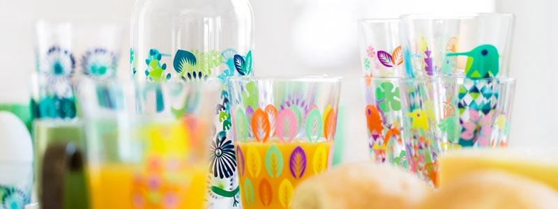 Fantasy Glass(ファンタジーグラス)ラージサイズ,glass,Sagaform,サガフォルム,Hanna Wering,ハンナ・ヴェルニング,スウェーデン,北欧食器