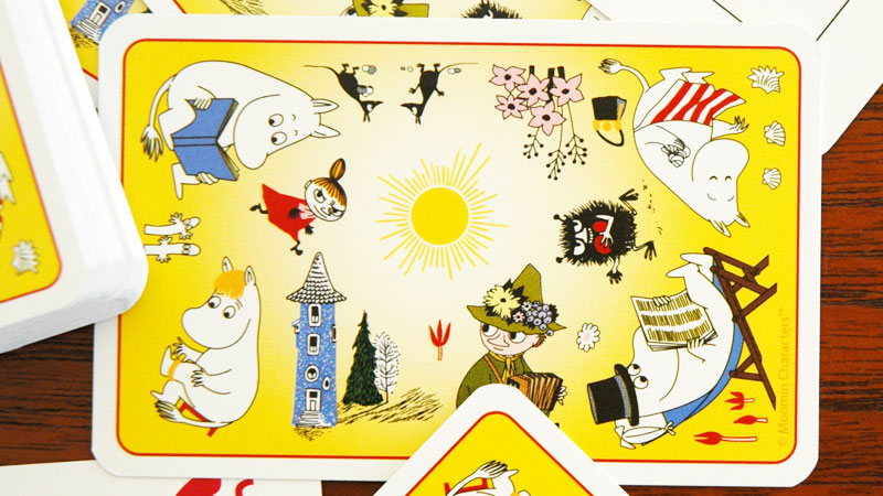 ムーミン,トランプ,裏側の柄,martinex,マルティネックス,スウェーデン,北欧,北欧雑貨,北欧インテリア,北欧ギフト