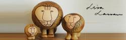 lisa larson,リサラーソン,lion,ライオンシリーズ