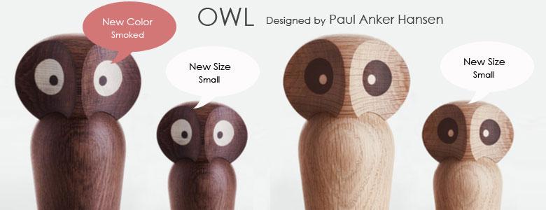 owl,フクロウ,paulankerhansen,ポールアンカーハンセン,デンマーク木製オブジェ,architrectmade