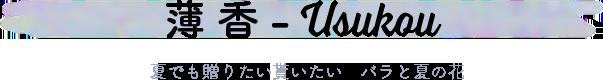 お母さんへのフラワーギフト生花 mothers day 薄香 Usukou バラと夏の花 〜 暑い季節にも花もちが良い品種のバラと旬の花やハーブを合わせたブーケ [ 花束 M size ]