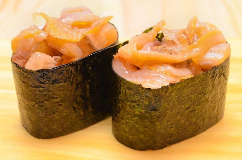 赤貝ひも 寿司