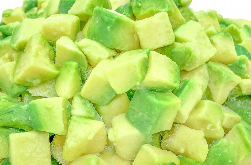 冷凍野菜・とろろ・枝豆・アボカド