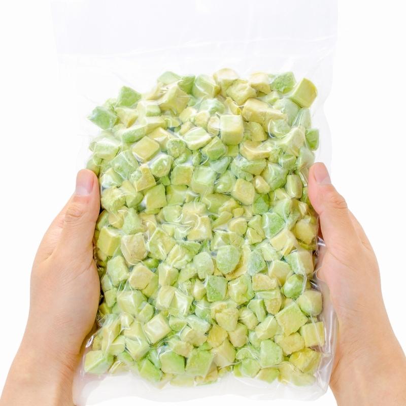 アボカドカットパッケージ 冷凍1