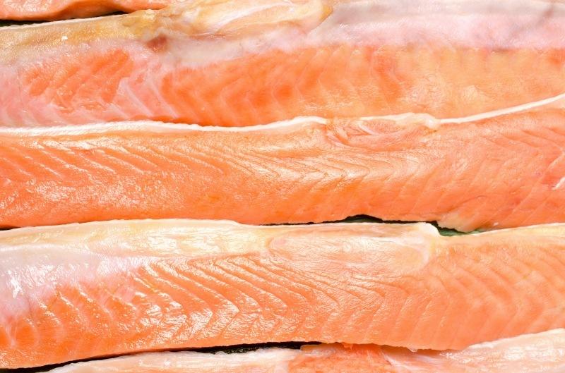 紅鮭ハラス サイド