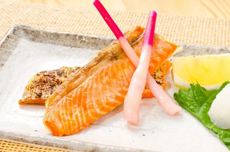 紅鮭ハラス 焼魚