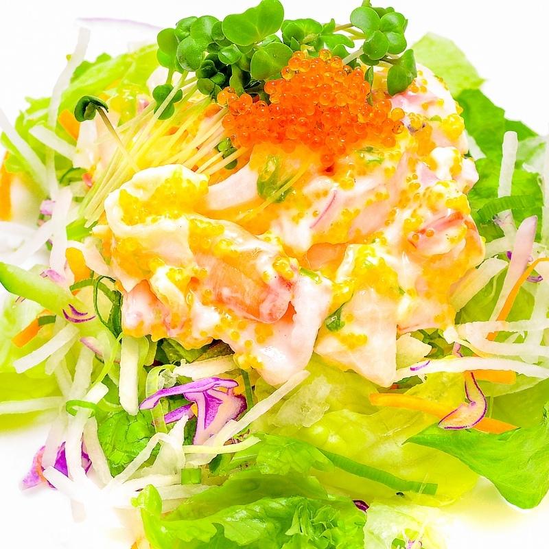 ほっき貝入り海鮮サラダ